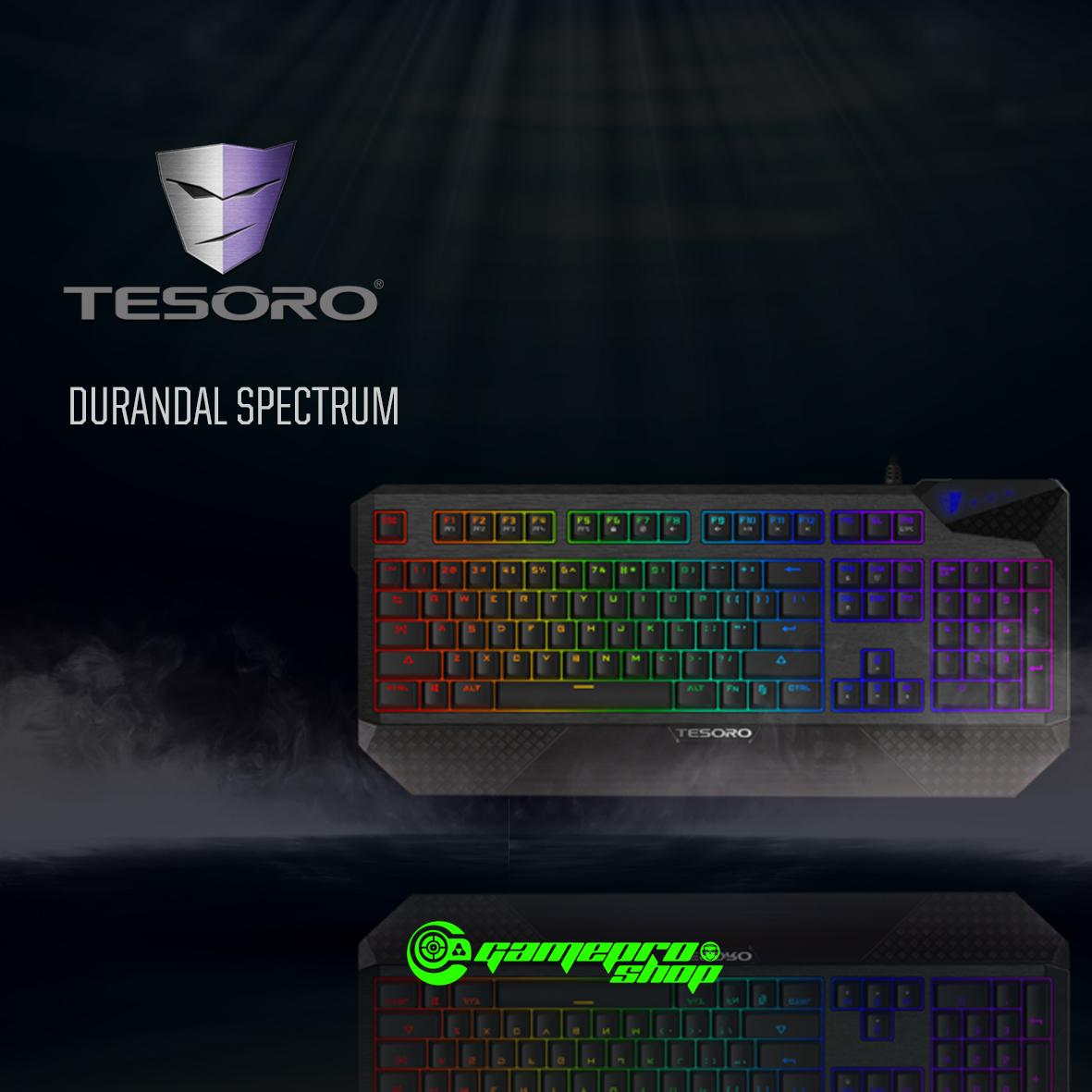 TESORO DURANDAL SPECTRUM BLK BLUE SWITCH Singapore