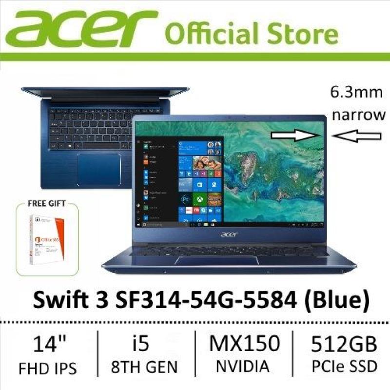 Acer Swift 3 SF314-54G-5584 (Blue) FHD IPS Narrow Bezel Thin & Light Laptop