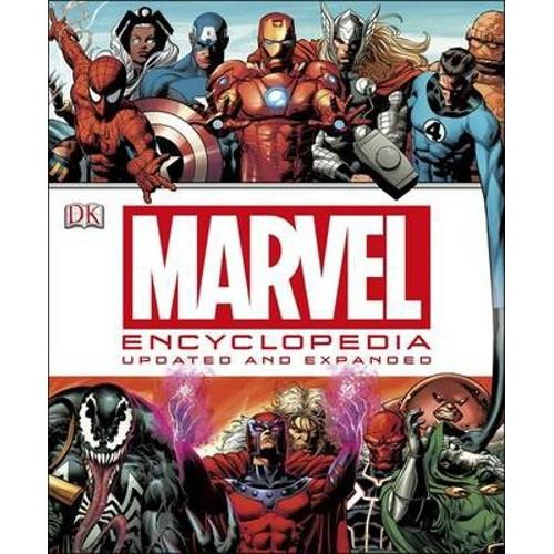 Best Marvel Encyclopedia Updated Edition
