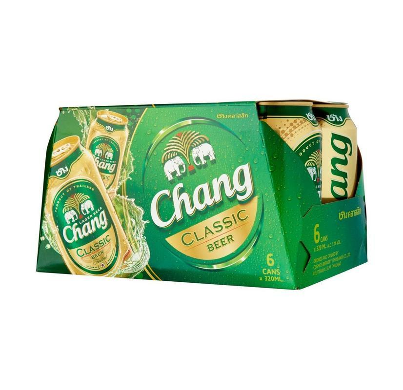 Price Chang Beer Can 5 12S X 490Ml Chang Original