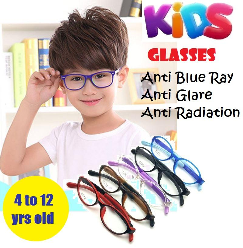 9c7ec4fa47 Children Anti Blue Light Ray Anti Glare Radiation Computer Glasses  Spectacles