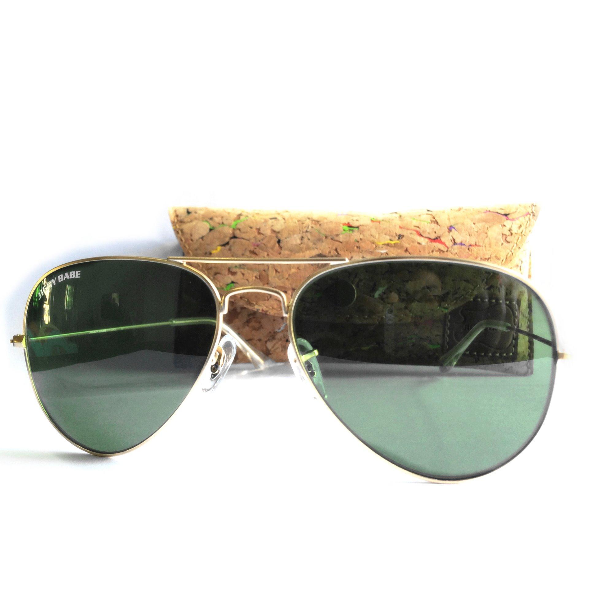 e3126adc38 Top Original Brand Name Designer Polarized Aviator Sunglasses Retro 3025  Large Metal UV400 Men Women Premium