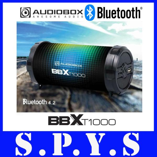 Audiobox BBXT1000 Speaker Portable Rechargeable. Bluetooth, FM Radio, Memory Card Slot, USB Input, Line In Port. Super Loud. 1 Year Warranty. (Spectra Design) Singapore