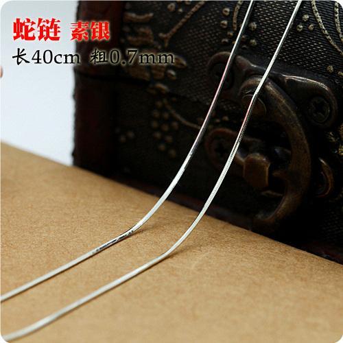 S925 perak murni Kalung perempuan kalung klavikula tidak ada Liontin Kalung Kalung Choker minimalis Kalung motif