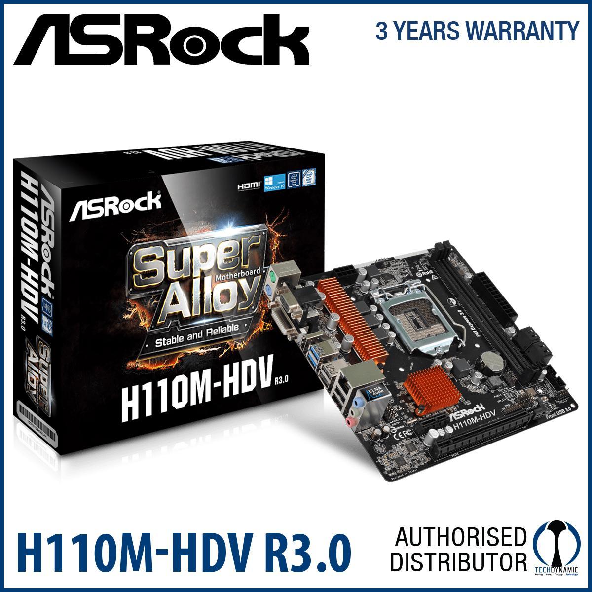 Great Deal Asrock H110M Hdv R3