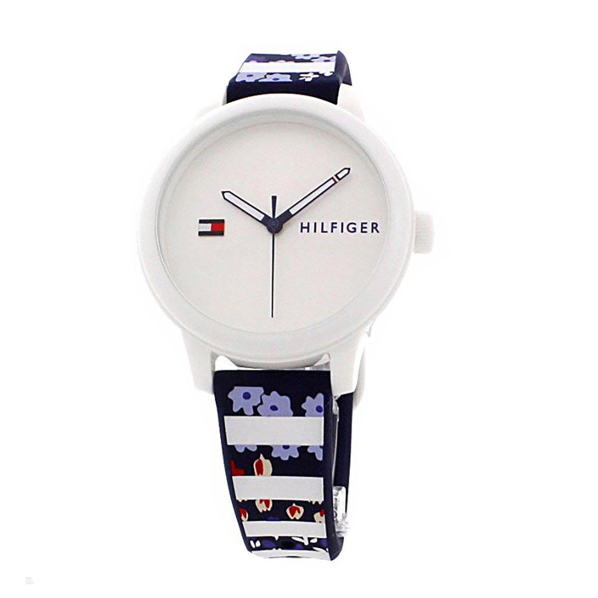 Sale Tommy Hilfiger Watch Ashley Multicolored Plastic Case Silicone Strap Ladies 1781779 On Singapore