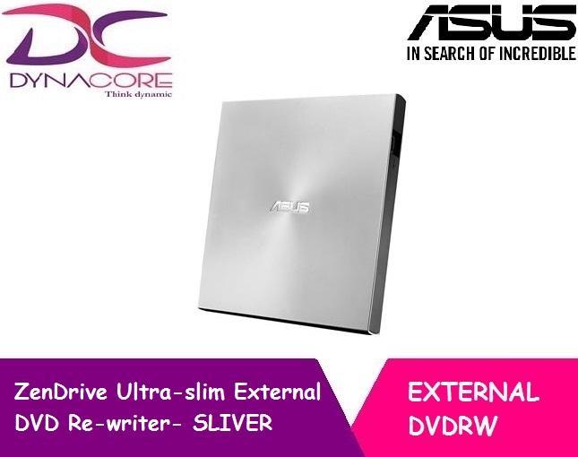 [ASUS] ZenDrive Ultra-slim External DVD Re-writer- SLIVER