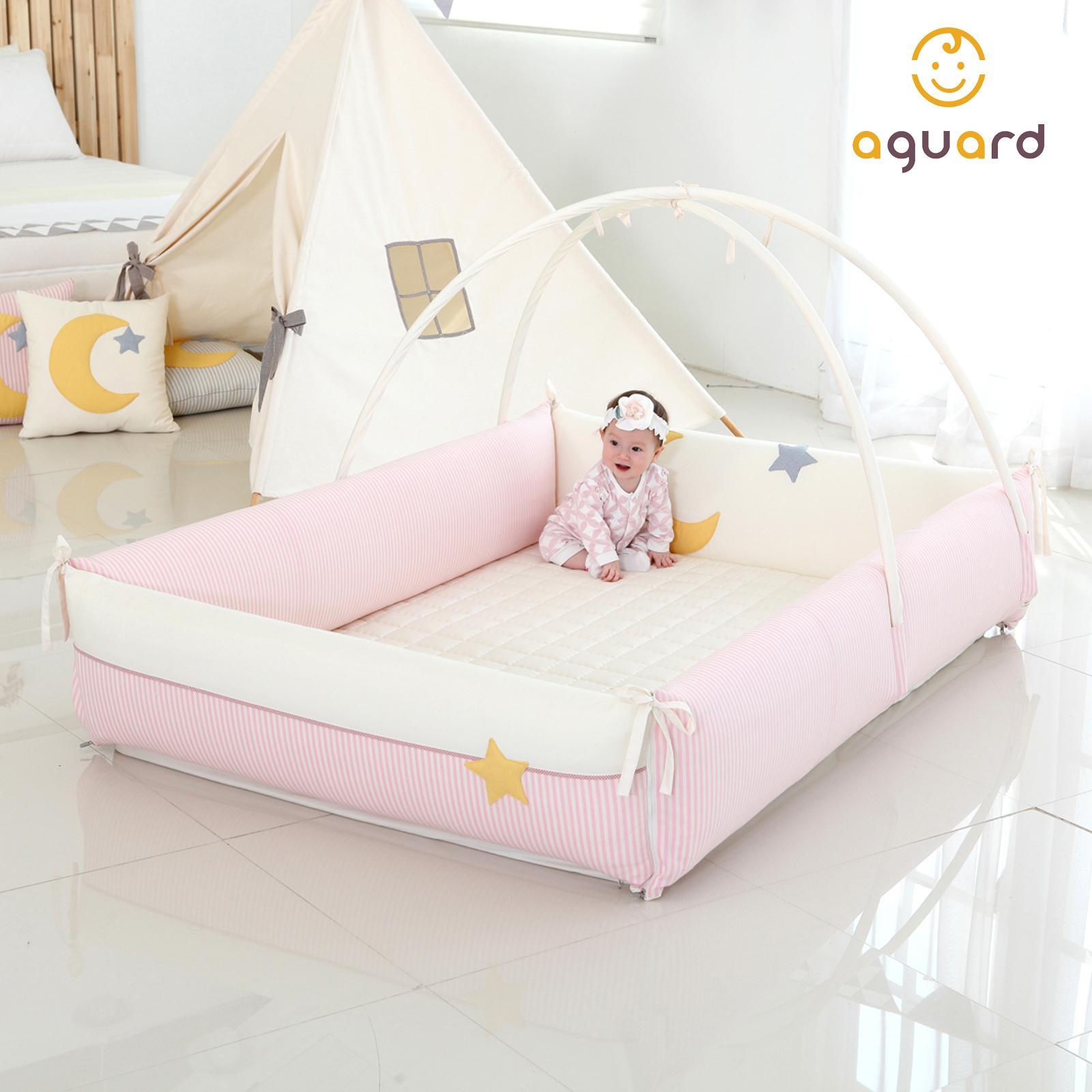 AGUARD Bumper Bed - Moonstar Pink - M