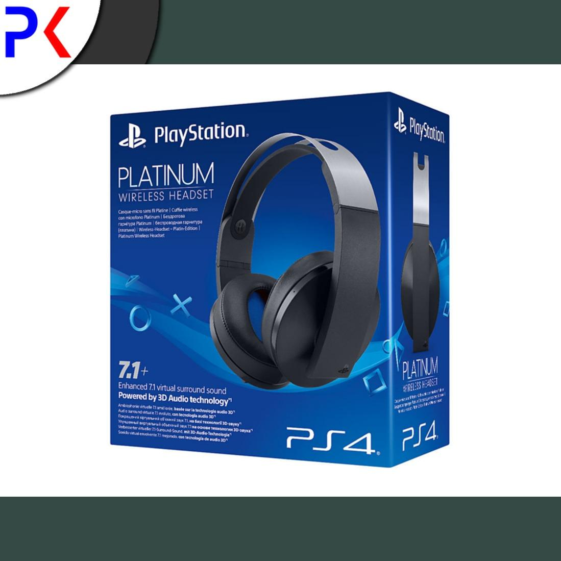 Sony Ps4 Platinum Wireless Headset Singapore