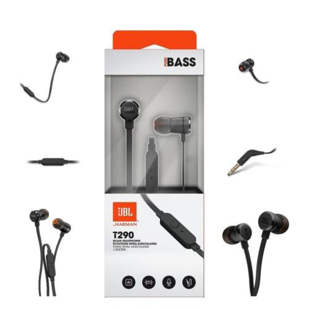 Sale Jbl T290 In Ear Headphones Black Colour Singapore