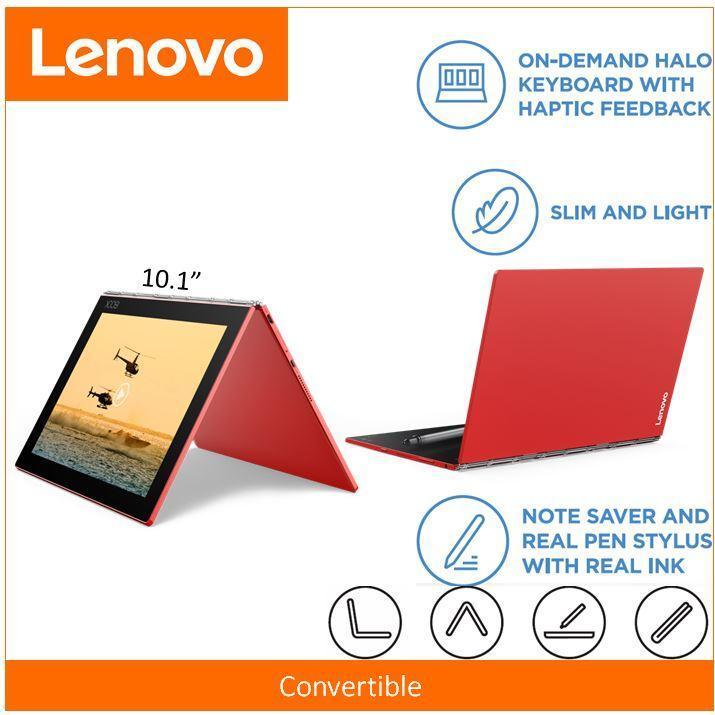Lenovo YOGABOOK YB1-X91F TAB 4G+128GBL-SG WIN 10