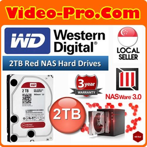 Compare Prices For Wd Red 2Tb Sata 6G 64Mb Cache Nas Hard Disk Wd20Efrx Exclusive Nas 3 3D Active Balance Plus High Reliability Nasware Tech Intelligent Error Recovery Command Completion 3 Years Warranty