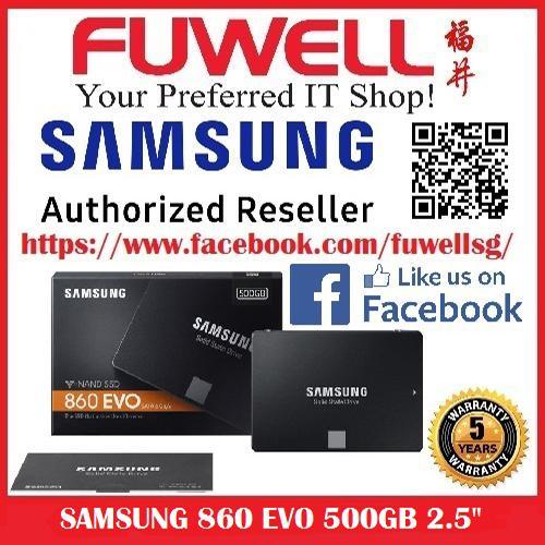 Brand New Samsung 860 Evo 500Gb 2 5 Inch Ssd