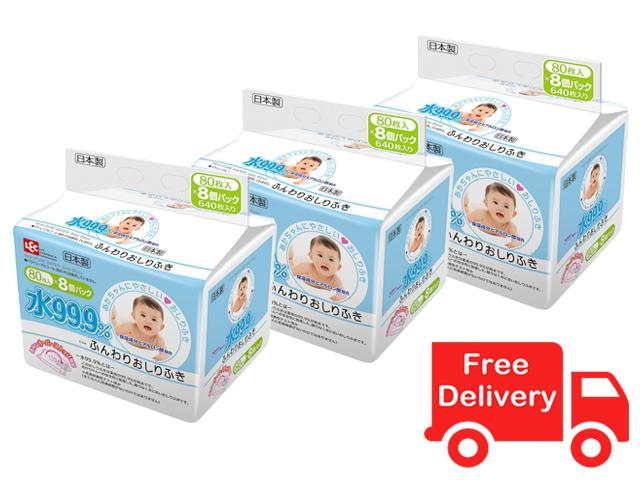 Lec Everyday 99 9 Water Baby Wipes 80S X 24 Lec Discount
