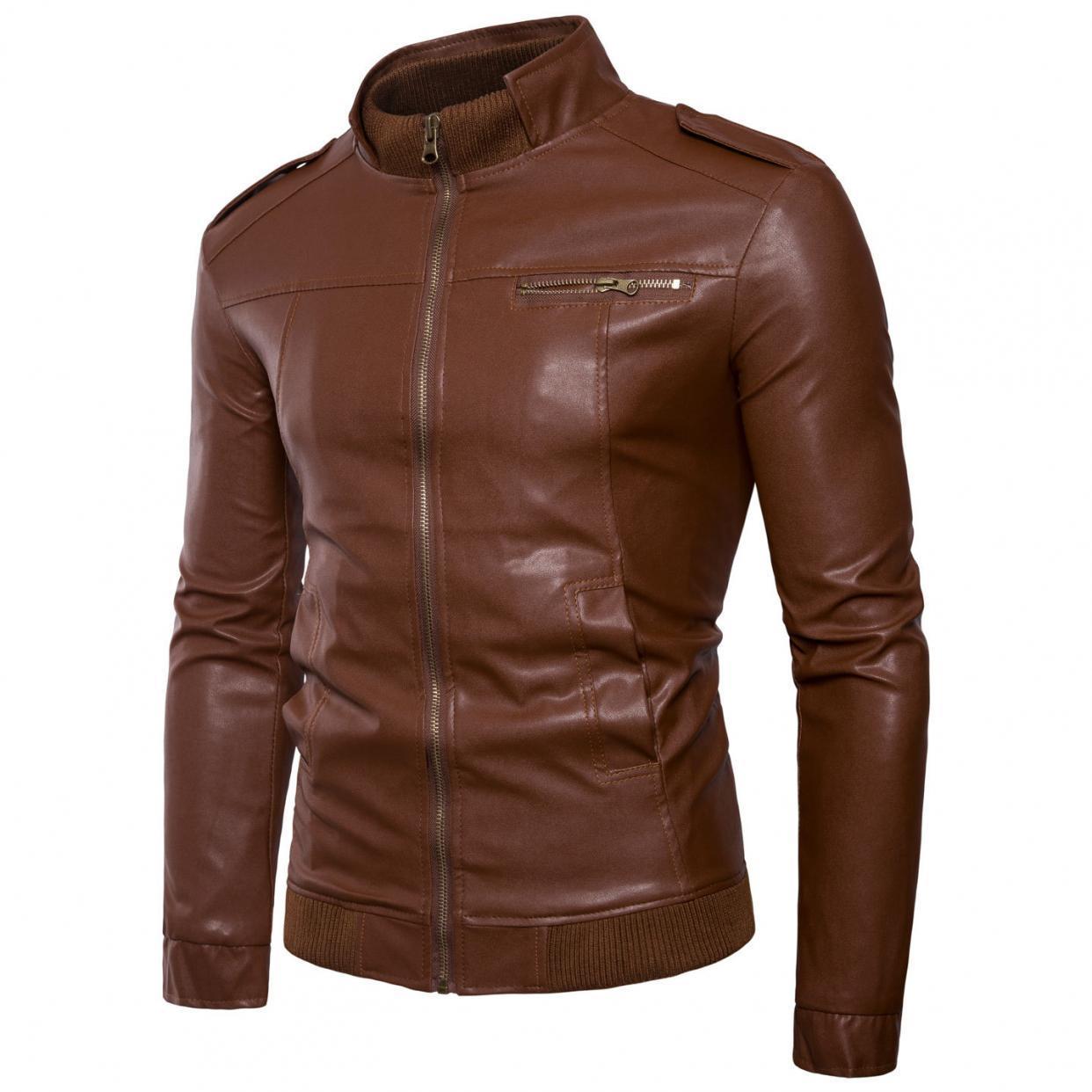 d074405f160e Leather Jackets for Men for sale - Mens Leather Jackets Online Deals ...