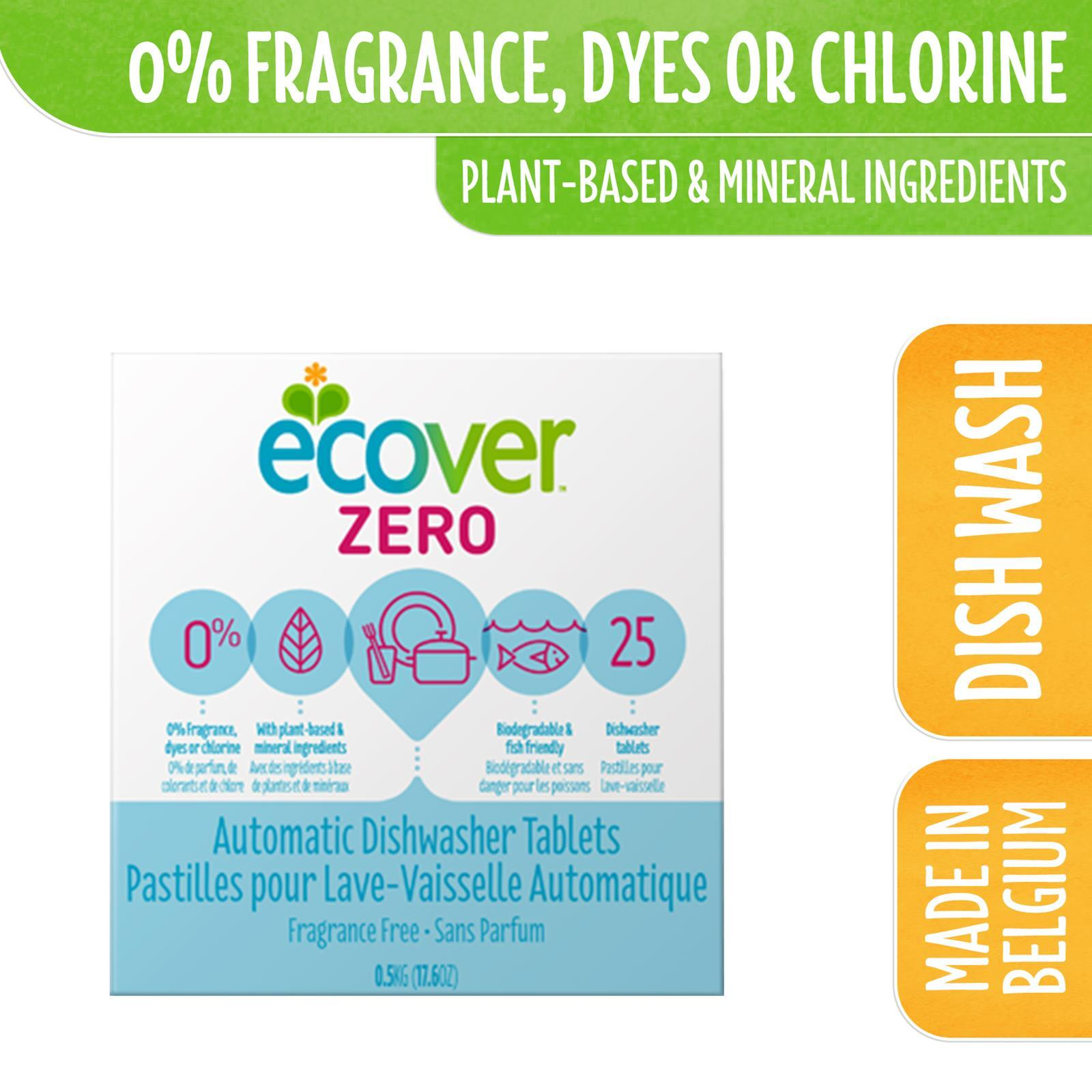 Ecover Zero Dishwasher Tablets 25s By Corlison.