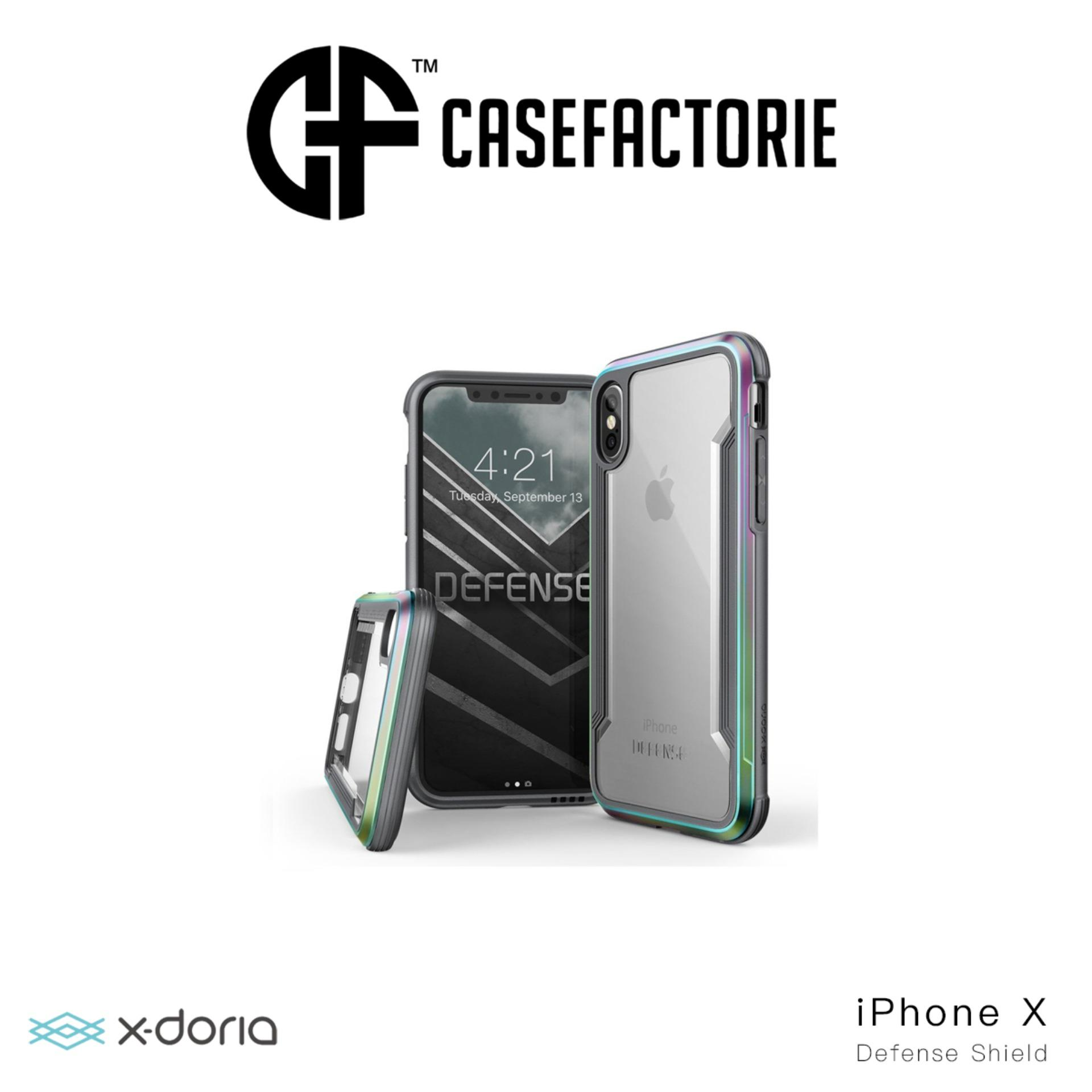 Buying X Doria Defense Shield Case For Iphone X Iridescent