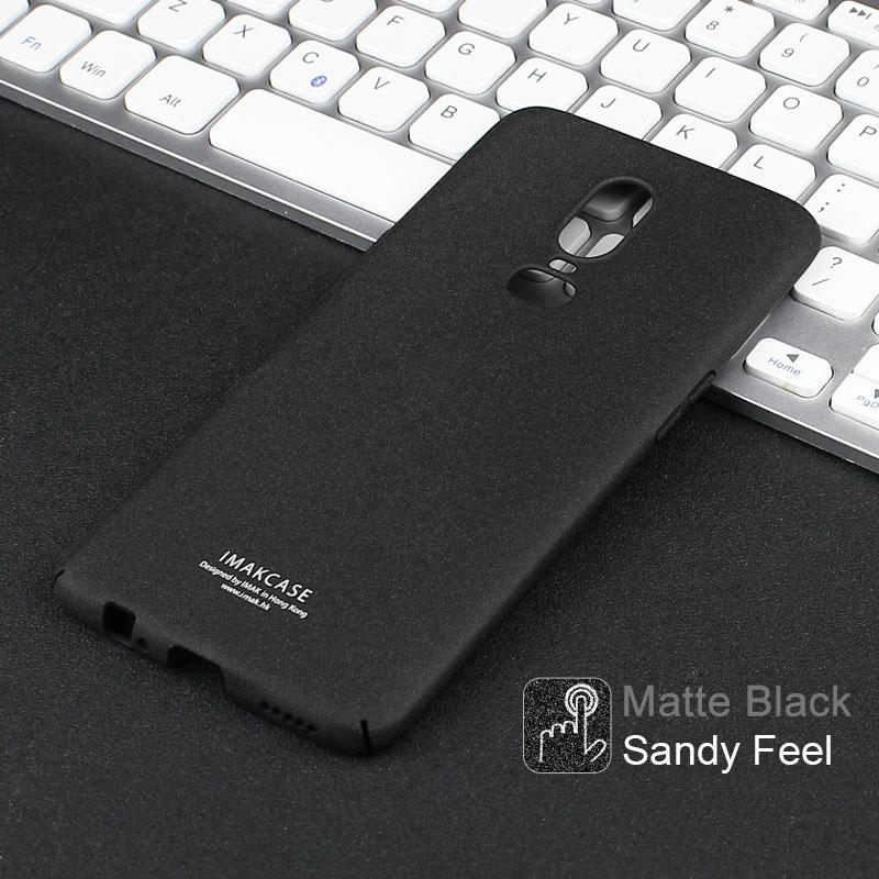 Sale Oneplus 6 Case Imak Cowboy Sandy Wear Resistant Hard Pc Full Cover Imak Branded