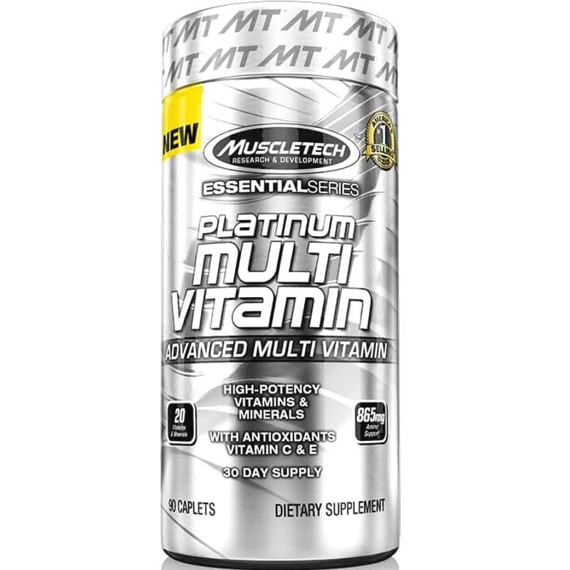 Muscletech Platinum 100 Multi Vitamin 90 Caplets On Singapore