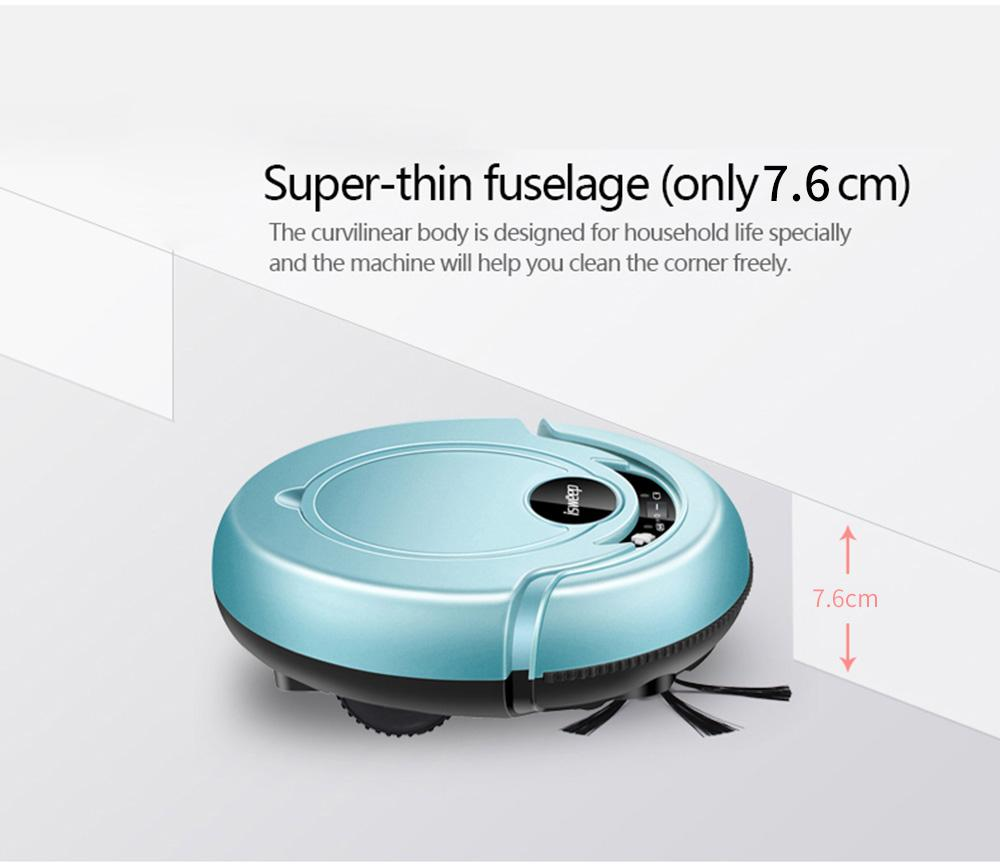 S320 Robotic Vacuum Cleaner with Mopping Cloth