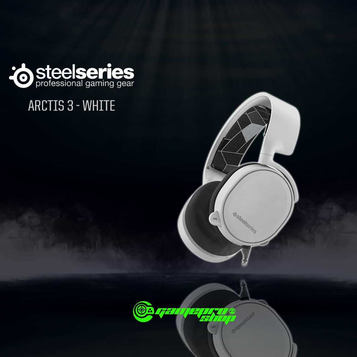 Retail Price Steelseries Arctis 3 Headphone White Colour Gss Promo