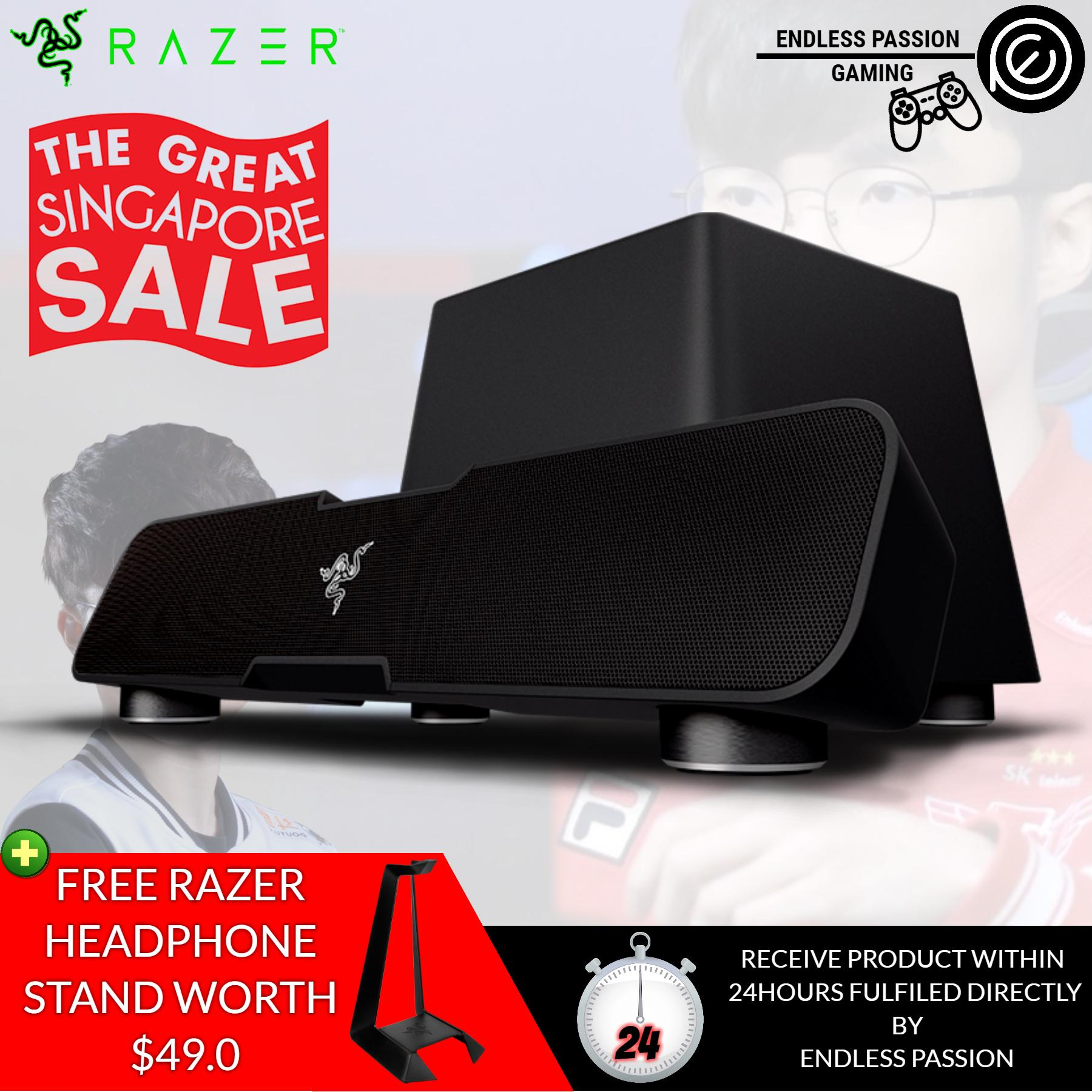Price Razer Leviathan Elite Gaming Music Sound Bar Razer New
