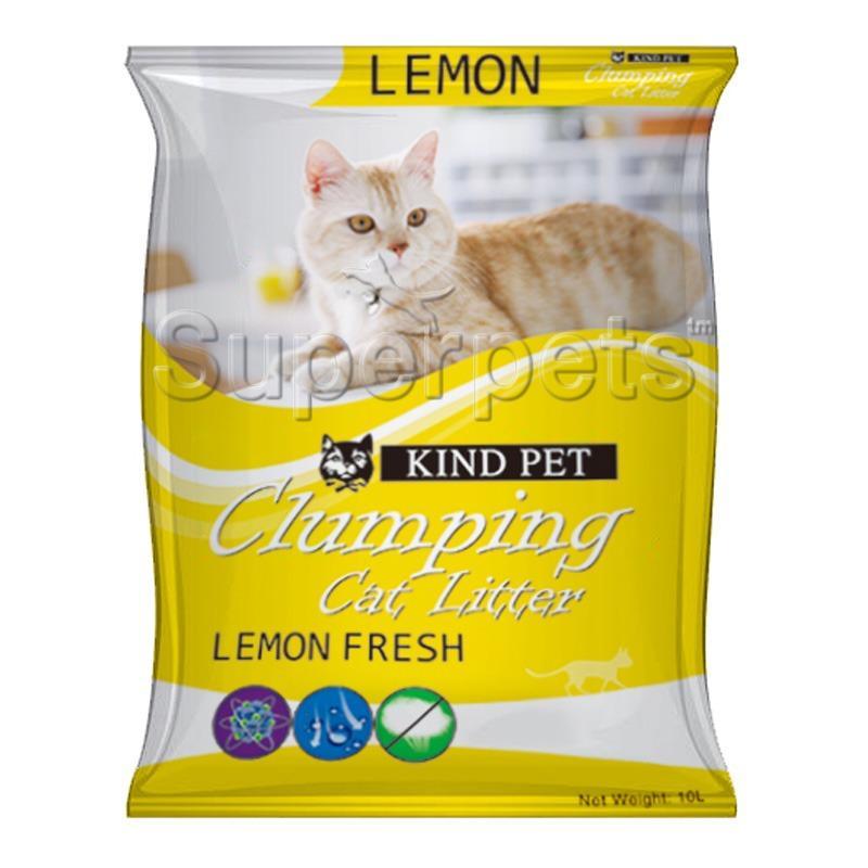 Kind Pet Fine Clumping Sand Cat Litter 10L Lemon Coupon Code