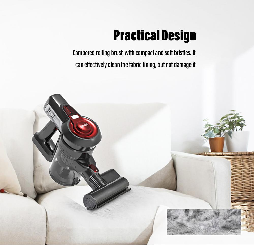 Detachable Electric Dust Mites Suction Head Vacuum Cleaner Attachment for Dibea C17 / DW100