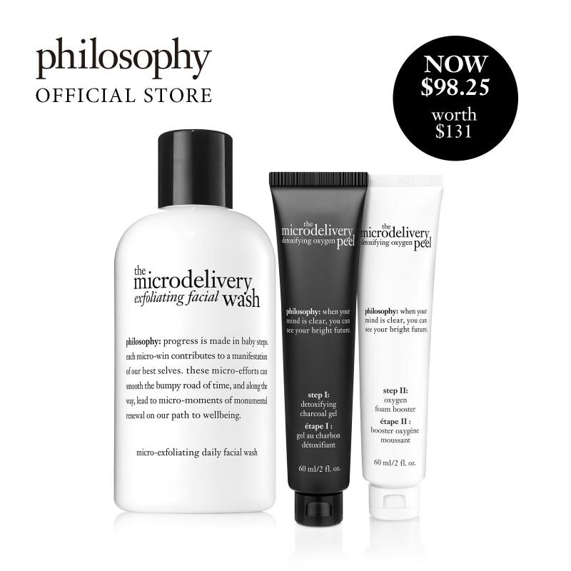 Buy Philosophy Microdelivery Peel Set (worth $131) Singapore