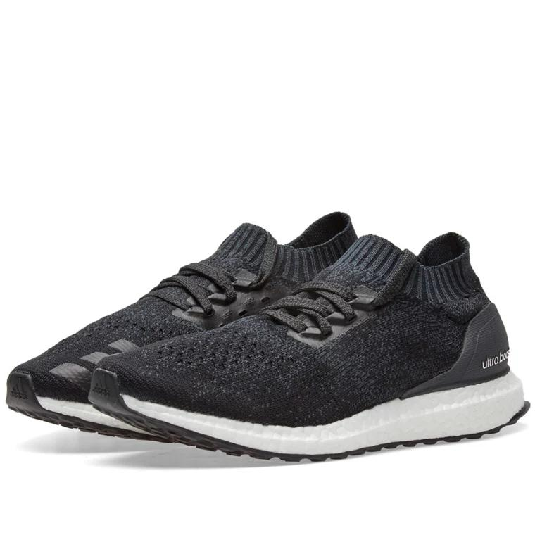 Authentic Adidas Ultra Boost Uncaged Carbon x Core Black x Grey 4f2fe8d39
