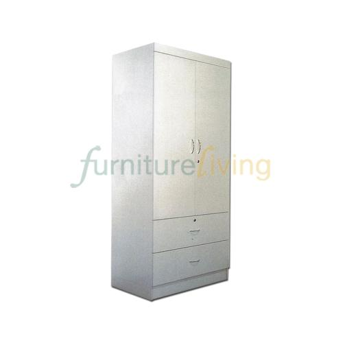 Get The Best Price For Furniture Living 2 Door Wardrobe White Wash