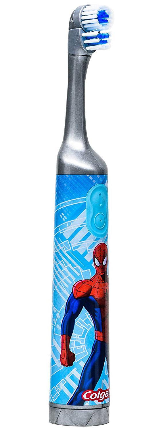 Colgate Spider-Man Kids Battery Powered Toothbrush By Sterne Mond Co.