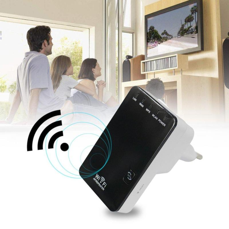 HeQiao 300Mbps Wireless-N Mini Router Wifi Repeater Extender Booster Amplifier Singapore