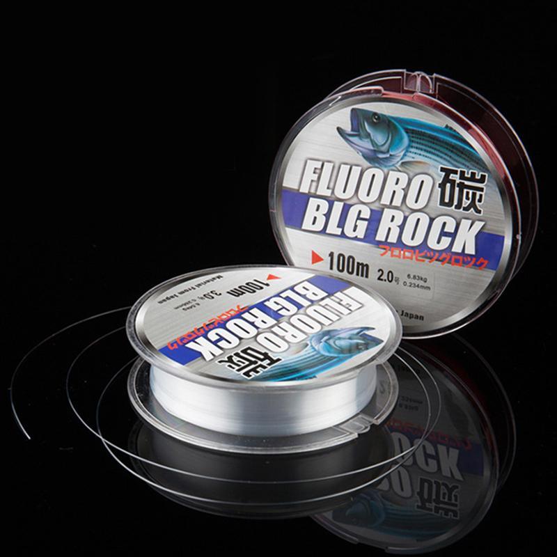 Hình ảnh thu nhỏ Lightnice 100 m Fluorocarbon Dây Câu Cá màu sắc rõ ràng Sợi