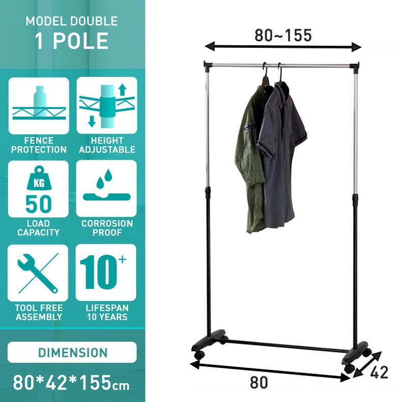 Clothes Line & Drying Racks