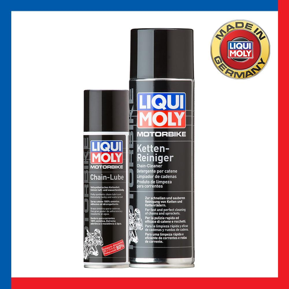 Store Motorbike Chain Lube And Cleaner Bundle Deal Liquid Moly On Singapore