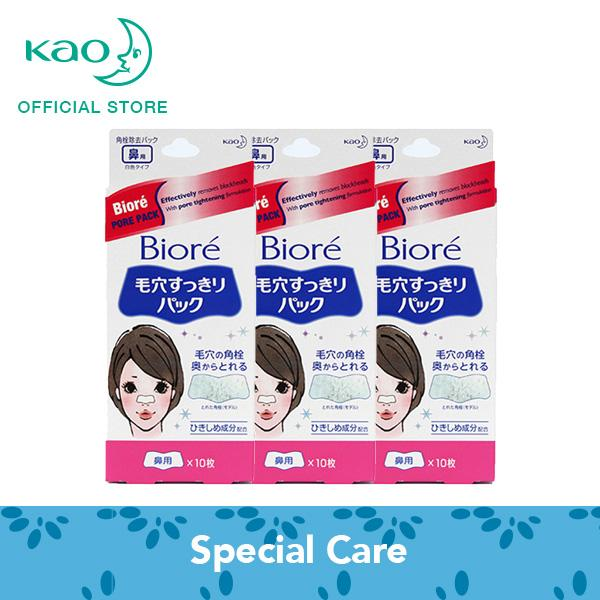 Deals For Biore Pore Pack 10S X3