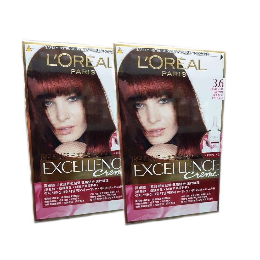Best Rated Loreal Excellence 3 6 X2 Qty