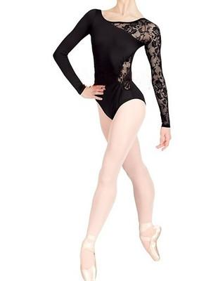 Special Offer Ballet Dance Costume Lace Juxtaposition Exercise Clothing One-Piece Gym Outfit Dancing Dress Shapewear Costume By Taobao Collection.