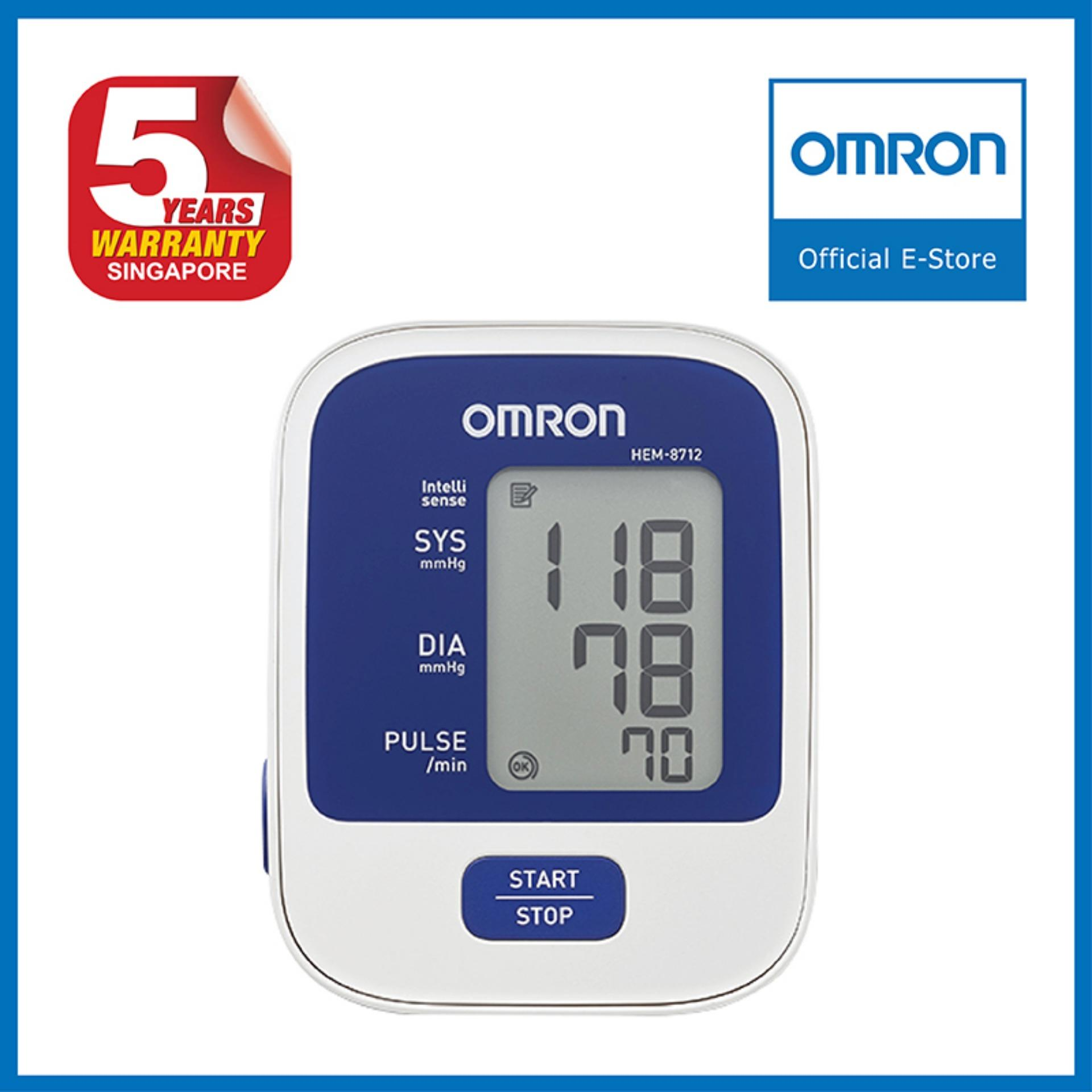 Omron Upper Arm Blood Pressure Monitor Hem 8712 Singapore