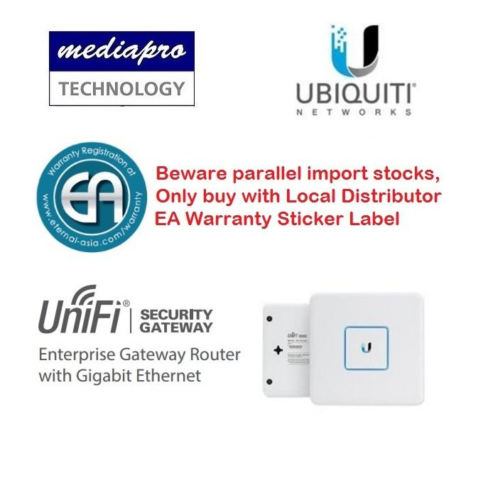 Ubiquiti Usg Unifi® Security Gateway Local Distributor Warranty Enterprise Gateway Router With Gigabit Ethernet For Sale