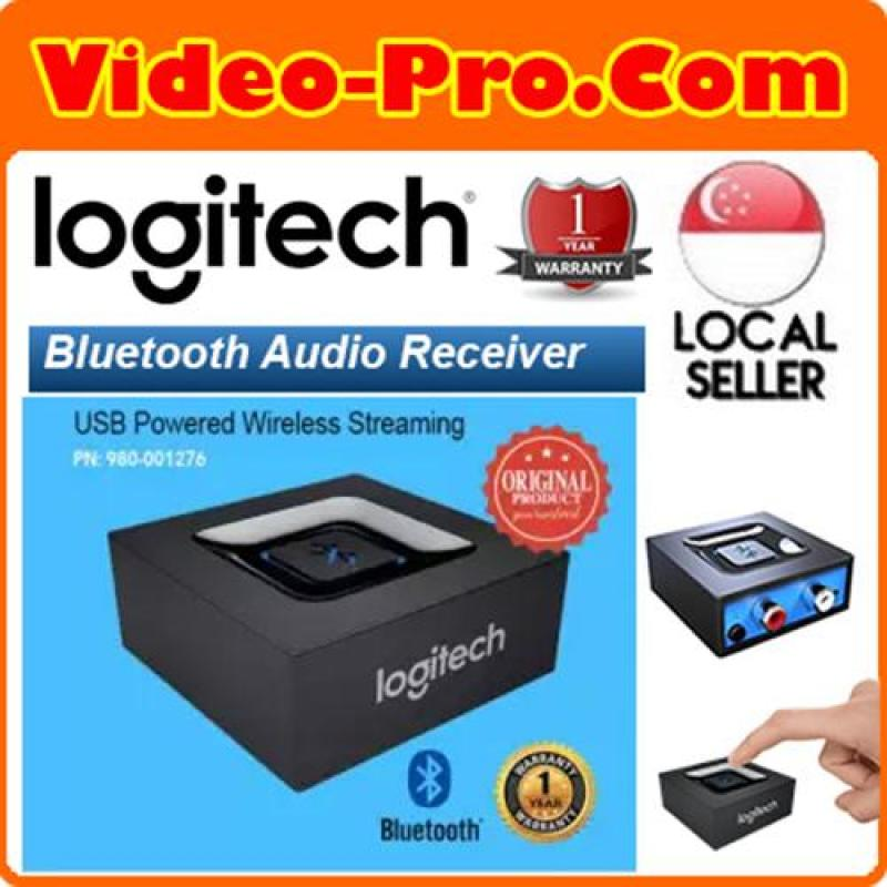 Logitech USB Powered Multipoint Bluetooth Audio Receiver Wireless Streaming- Stream Music From Smartphone or Table 980-001276 Singapore