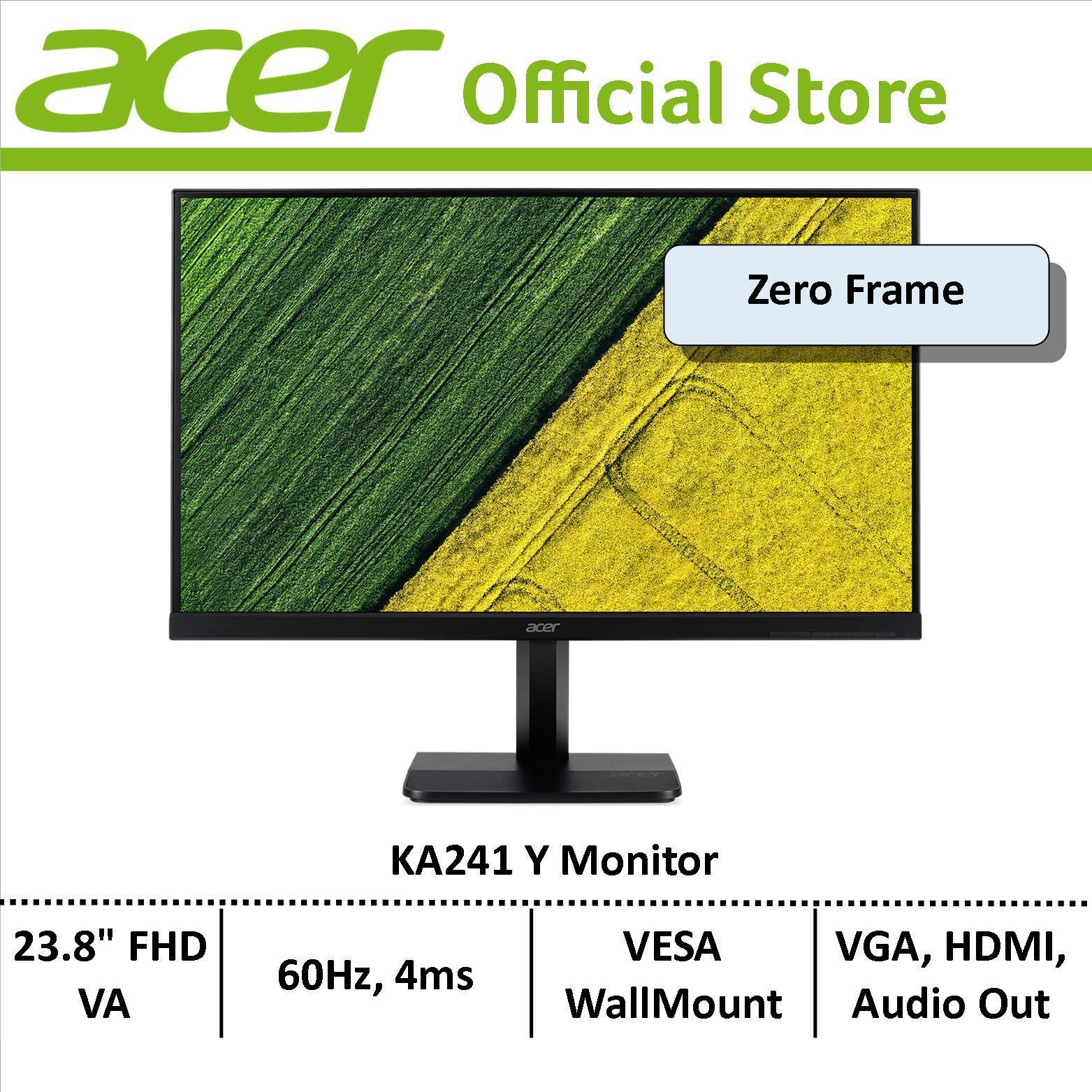 Acer KA241 Y 23.8-Inch FHD Monitor