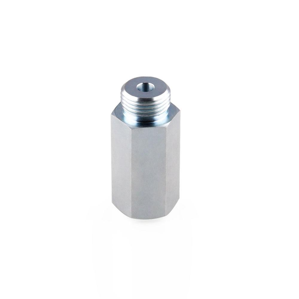 Pl M18 1.5 O2 Oxygen Sensor Bung Adapter Extender Spacer Stainless Steel By Purple111.