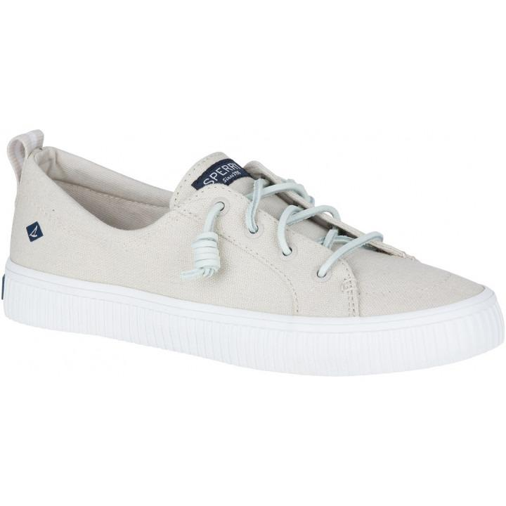 Review Sperry Top Sider Crest Vibe Creeper Linen Sneaker Sts80645 C7 Crest Sperry