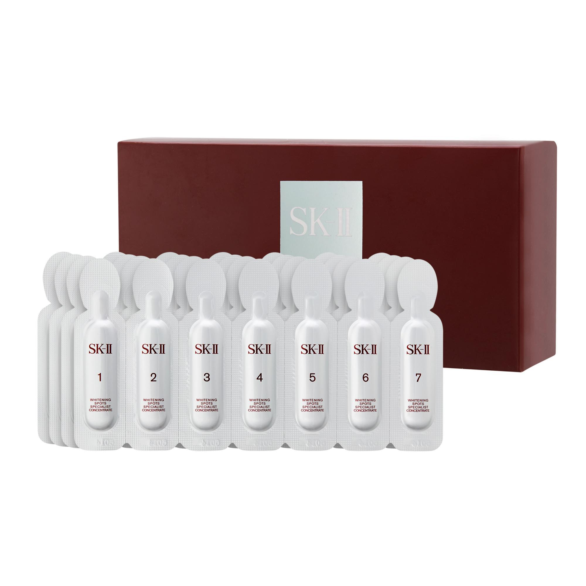 Cheap Sk Ii 28 Day Essence Treatment Whitening Spots Specialist Concentrate 1Set 28Pcs Intl