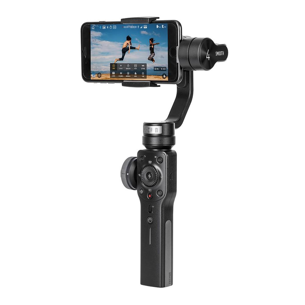 Zhiyun Smooth 4 3-Axis Handheld Smartphone Gimbal Stabilizer VS Zhiyun Smooth Q Model for iPhone X 8Plus 8 7 6S Samsung S9 S8 S7 - intl