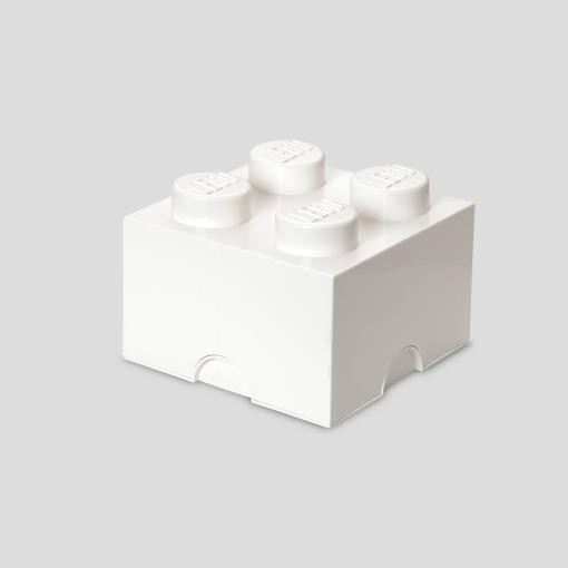 LEGO Storage Brick 4 (White)