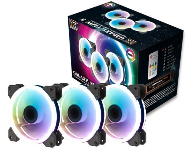 Promo Xigmatek Cy120 Rgb Fan 3 Fan Pack