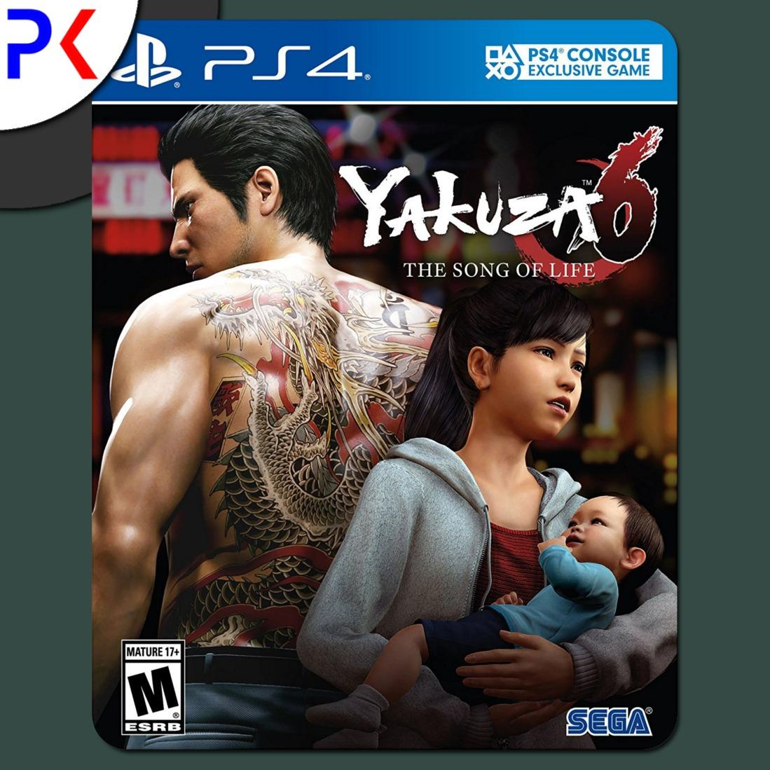 Buy Ps4 Yakuza 6 The Song Of Life Launch Edition R3 Cheap Singapore
